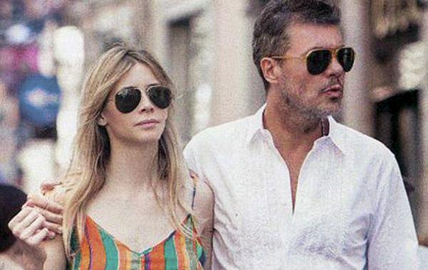 Amor de telenovela. Guillermina Valdés y Marcelo Tinelli serán padres.