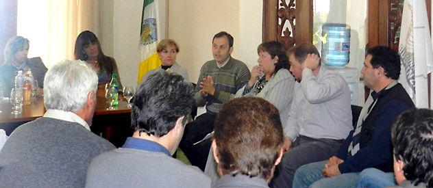 Una reunión llevada a cabo en Cañada coincidió en que la infraestructura es deficitaria.