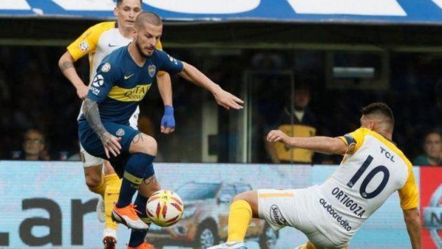 La final de la Supercopa argentina la dirimen el campeón de la Superliga (Boca Juniors) y el ganador de la Copa Argentina