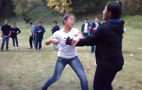 Violenta pelea de dos adolescentes en la ciudad de Paraná
