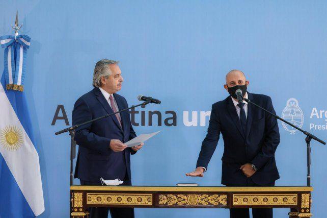 Guerrera fue puesto en funciones por el presidente.