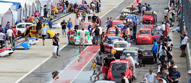 Fierros. Las convocantes categorías regionales también serán parte de las opciones que ofrecerá el autódromo.