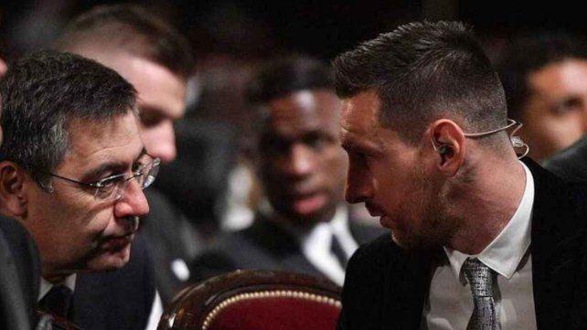"Bartomeu reveló que ""por el caso Messi nunca se me pasó por la cabeza dimitir."
