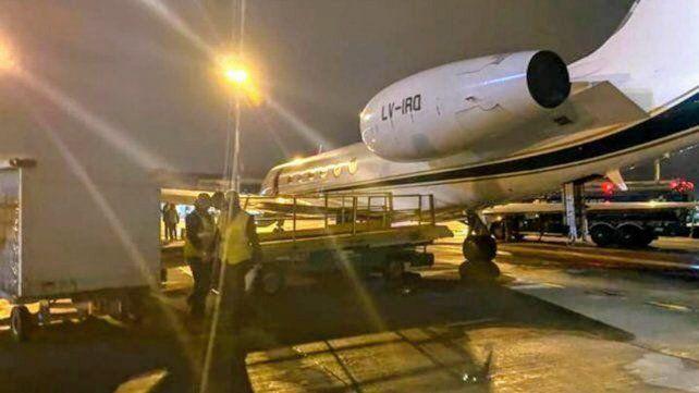 Los equipos médicos donados por Messi llegaron a Rosario el 8 de agosto del año pasado.