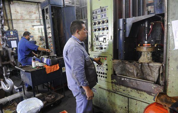 Industria. La mayoría de los sectores está en situación de estancamiento.