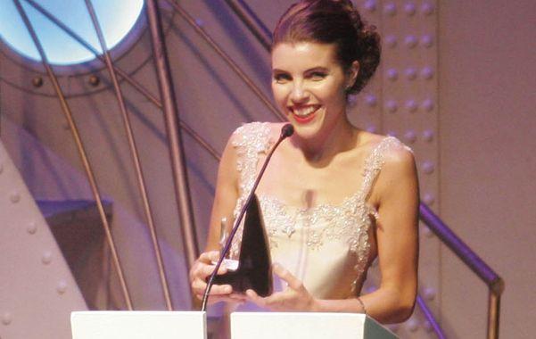 Josefina Scaglione recibió el premio Revelación