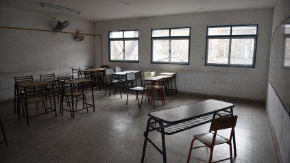 Las clases presenciales quedarían suspendidas en toda la provincia a partir de los próximos días.