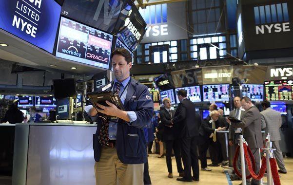 Temores. Los mercados neoyorquinos tuvieron bajas cercanas al 3%