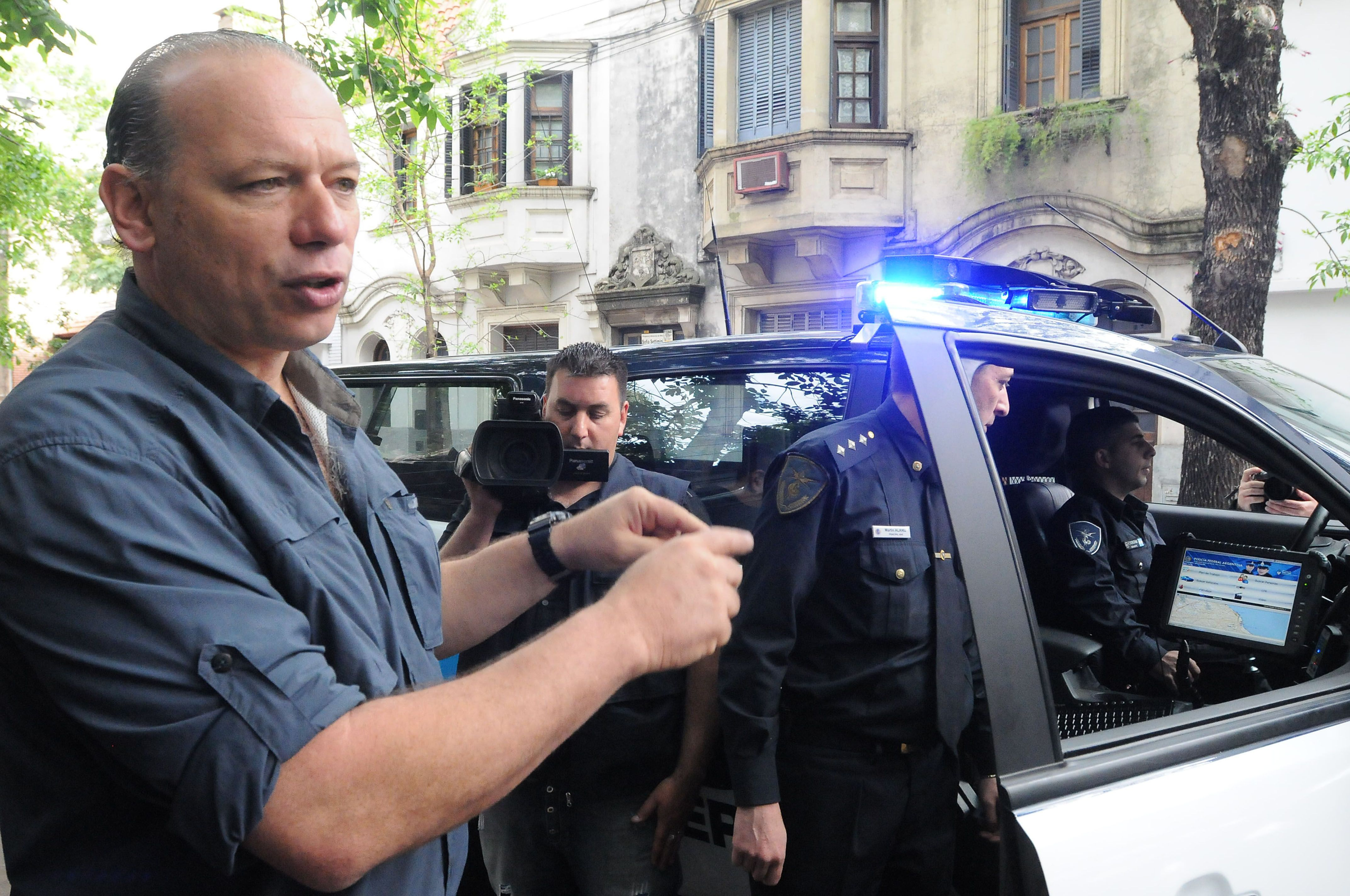 Berni dijo que estará al frente del operativo de seguridad en las afueras del Congreso y la Rosada. (Télam)