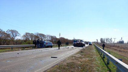 La víctima fatal era un hombre de entre 40 y 50 años oriundo de la capital provincial y el conductor del Citroen C4, de San Vicente.