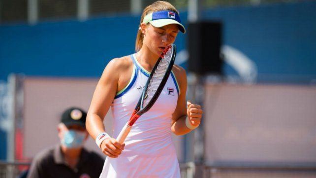 La rosarina espera completar una muy buena gira antes de Roland Garros