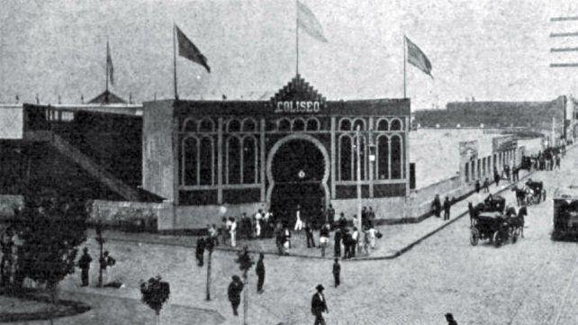 La entrada era por Córdoba y Dorrego y los boletos se compraban en Córdoba e Italia.