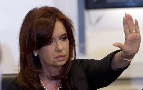 Cristina pidió no estigmatizar a los hinchas de fútbol