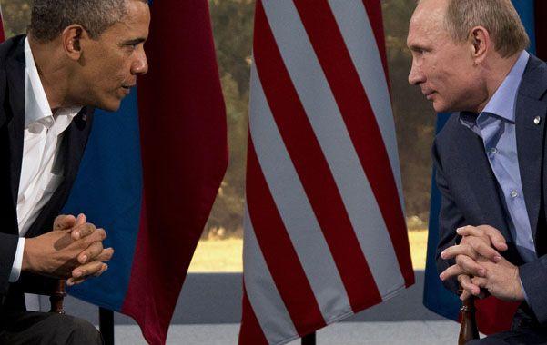 Cruce bilateral. Ambos mandatarios se reunieron en junio en el marco de la cumbre del G-8 en Irlanda del Norte.
