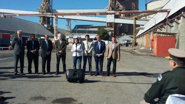 Bullrich junto autoridades nacionales y provinciales en la presentación del plan Cosecha Segura en San Lorenzo