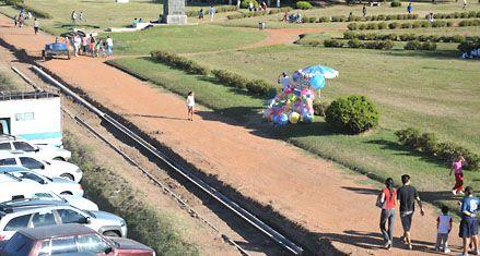 Ponen en marcha las obras para recuperar el alicaído parque Alem
