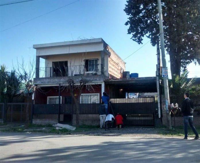 La casa donde vivían Ricardo Klein y Miriam Kowalzuck