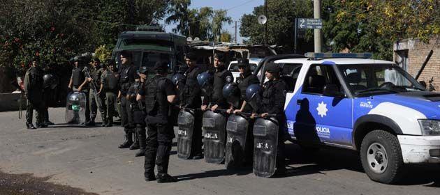 Los operativos se realizaron al mediodía en la zona conocida como Fuerte Apache