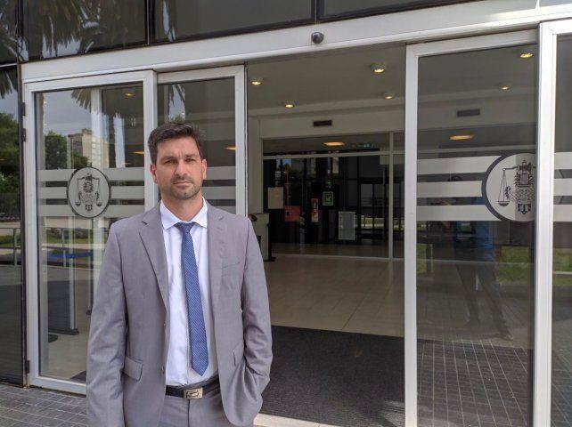El abogado Darrichón es vecino de Puerto Gaboto.