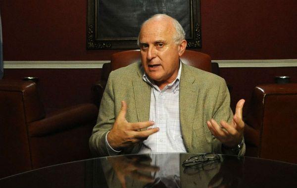 El legislador provincial mencionó a tres polos bien definidos para las elecciones generales. (Foto: M. Bustamante)