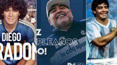 El mundo del deporte saludó a Diego Maradona por sus 60 años.