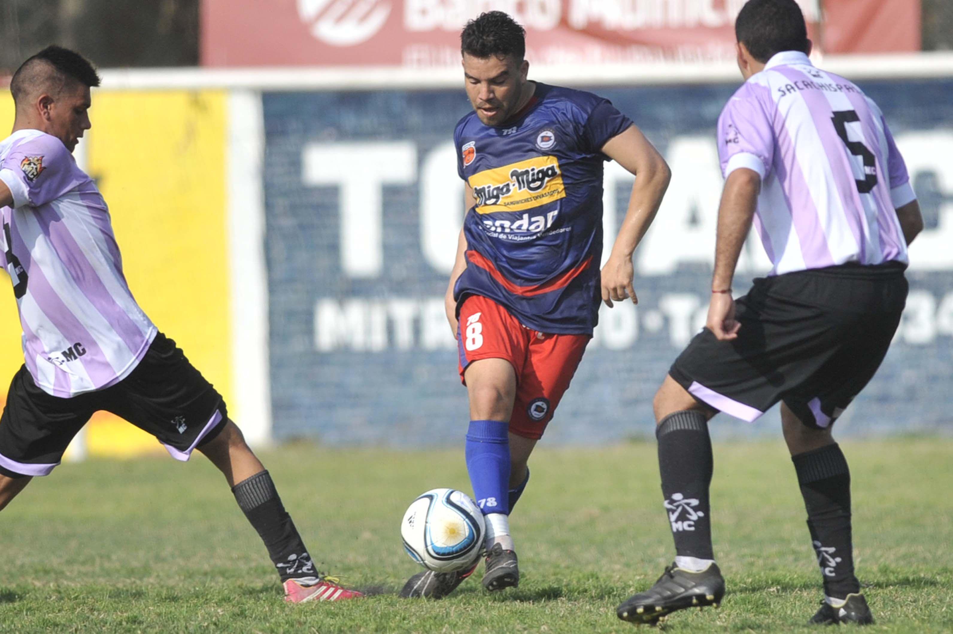El mejor. Funes fue una pieza fundamental en el equipo de Cuffaro Russo.  (Alfredo Celoria / La Capital)