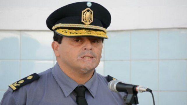 Acusado. El ex director general de la policía Marcelo Gómez.