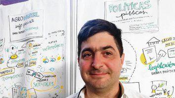 Hombre Clave. El economista Delgado, ahora interventor de Vicentin.