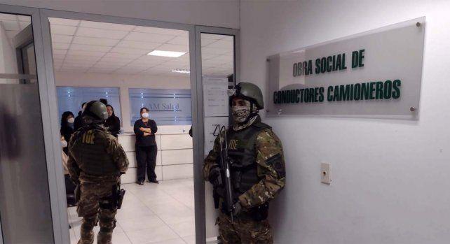 El presidente de la Obra Social Nacional de Camioneros expresó su repudio por recientes allanamientos a la institución.