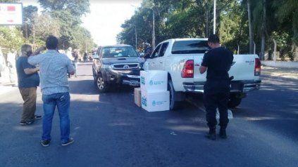 El ministro de Salud de Corrientes chocó mientras llevaba vacunas contra el coronavirus