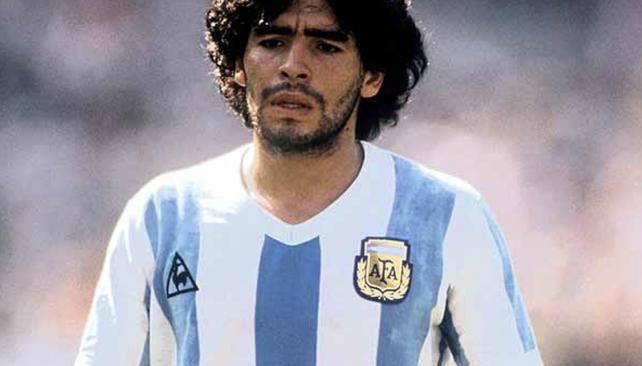 Diego en Italia 90.