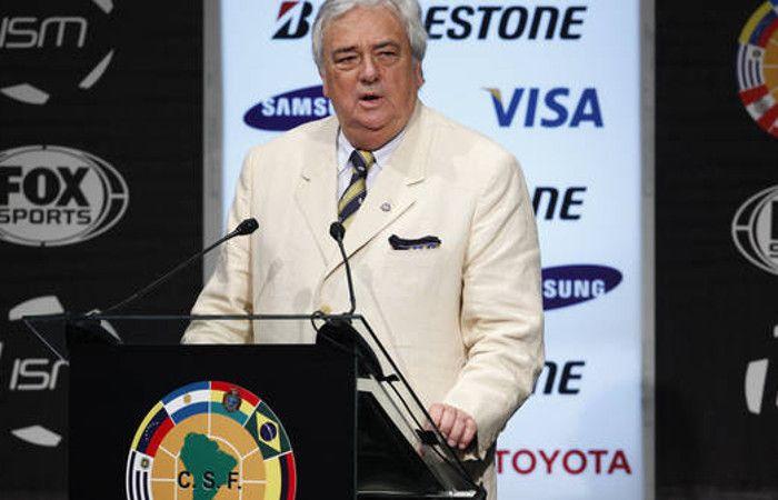 Meiszner renunció a su cargo en la Conmebol pensando en la presidencia de la AFA