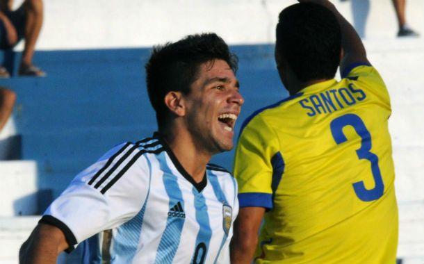 Giovanni Simeone fue el autor de dos de la media docena de goles argentinos.