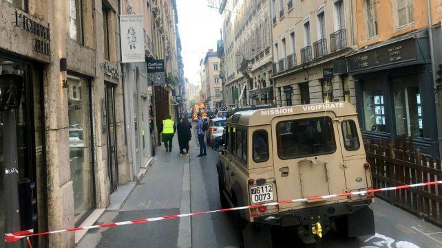 Atentado explosivo en Lyon, en el centro de Francia
