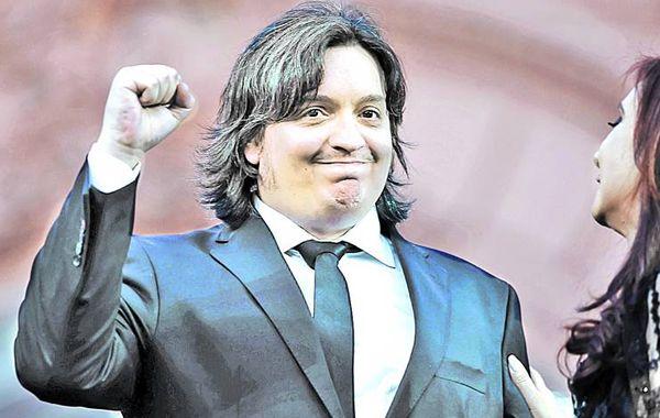 Máximo Kirchner es candidato a diputado nacional de Santa Cruz por el Frente para la Victoria.