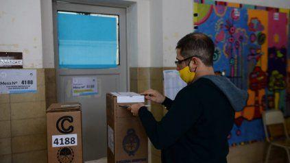 El Normal 3, uno de los centros de votación de las Paso.