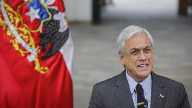 días agitados. El presidente chileno Sebastián Piñera.