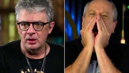 Se hartó. Juanse dijo que se cansó de los gritos del actor Daniel Aráoz y quiere que lo descalifiquen.