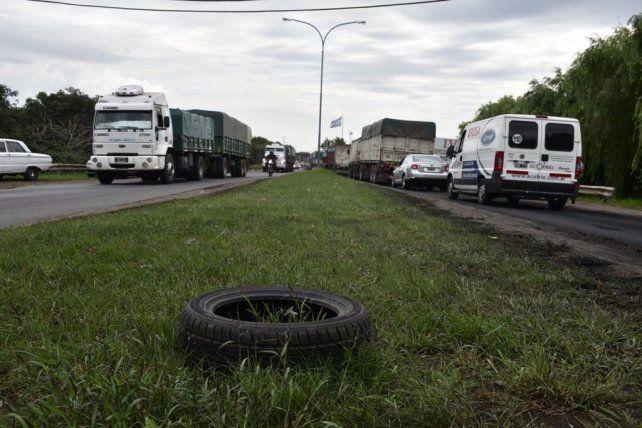 El jefe de policía de San Lorenzo dijo que el camionero actuó de forma intencional