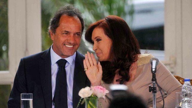 Scioli dijo que a veces eran tensos los diálogos con Cristina.