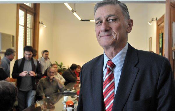 Armador. Binner está entusiasmado con el futuro de la coalición opositora.
