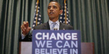Manifestantes negros interrumpen un acto de Barack Obama