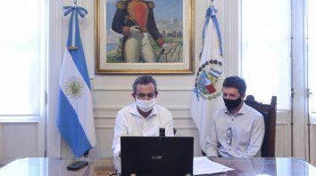 El intendente Pablo Javkin y el jefe de Gabinete, Santiago Cafiero, firmaron el Acuerdo Marco de Cooperación para implementar en la Municipalidad el sistema de Gestión Documental Electrónica.