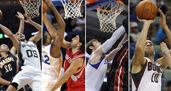 Papá Noel trae de regreso la magia de la NBA