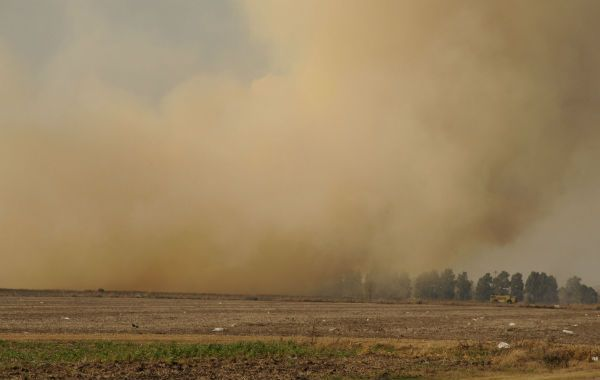 Antecedentes. El sur santafesino fue escenario de numerosos incendios.