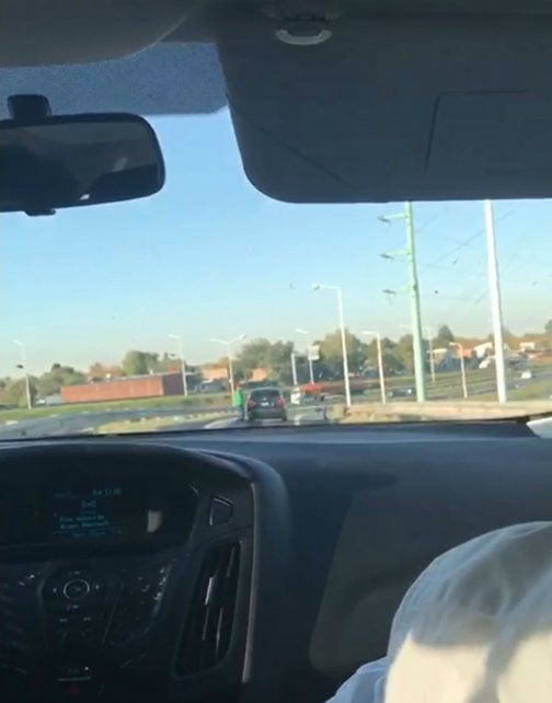 El video muestra el modus operandi de los asaltantes en la autopista Rosario-Buenos Aires.
