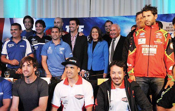 Presentaron oficialmente a Rosario como el punto de llegada del Dakar 2016