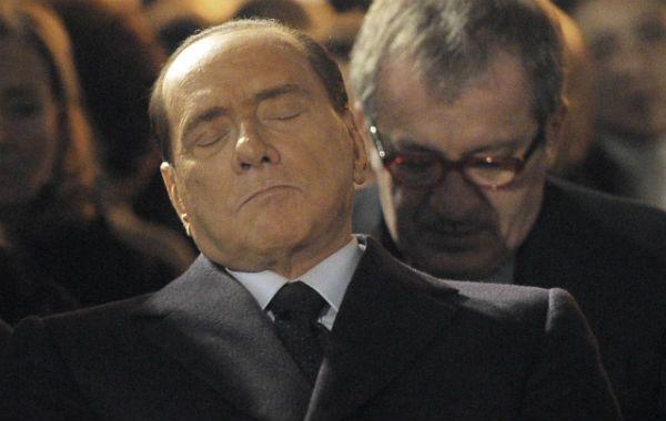 siesta. Durante el acto recordatorio en Milán