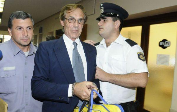 Condenado. El ex militar fue sentenciado a reclusión perpetua en otro juicio.