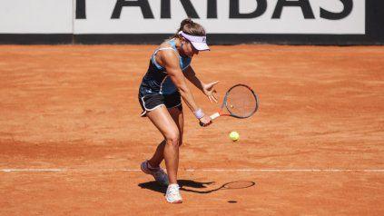 Nadia Podoroska es la mejor tenista sudamericana y llega a la BJKC tras una extensa gira por el continente.